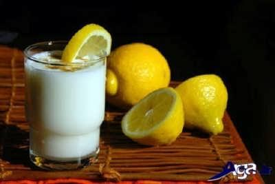 ماسک شیر و لیمو ترش