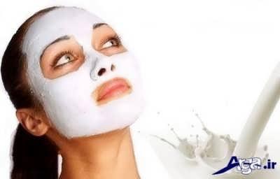 ماسک شیر برای از بین بردن لک صورت
