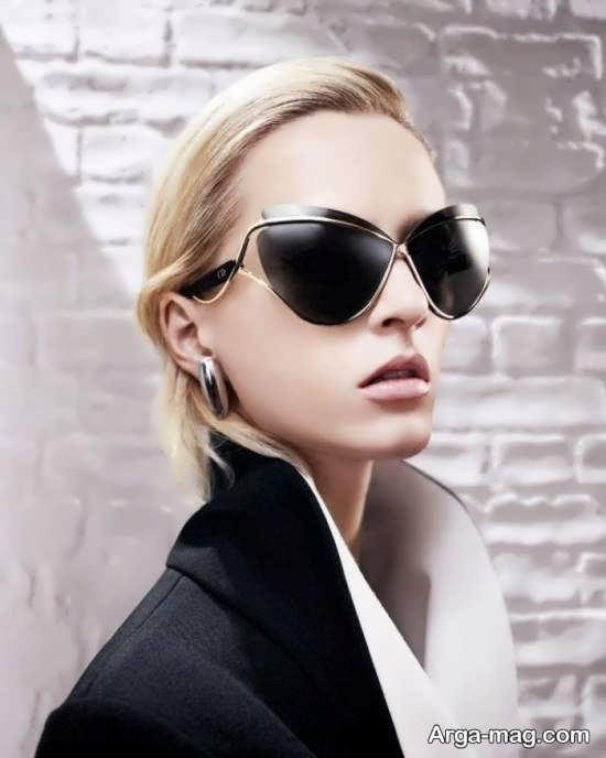 مدلی از عینک آفتابی دخترانه