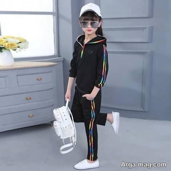 مدل جدید لباس دخترانه اسپرت