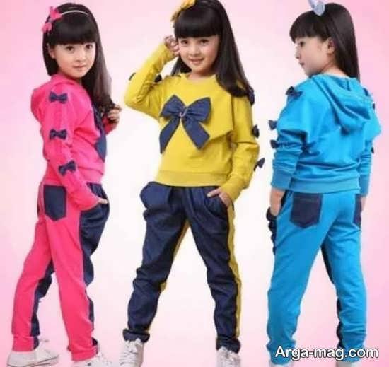 مدل لباسهای جدید دخترانه اسپرت
