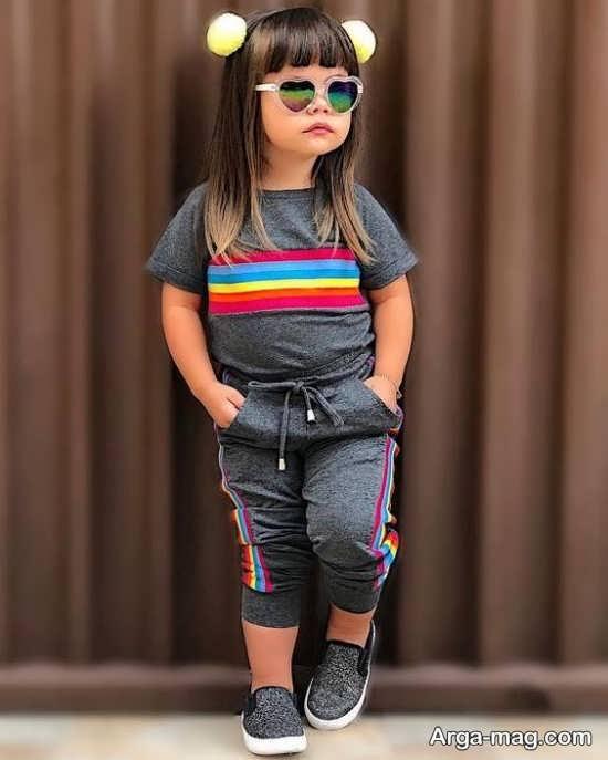 مدل لباسهای دخترانه اسپرت