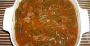 طرز تهیه خورش لوبیا سبز خوش طعم و خوشمزه