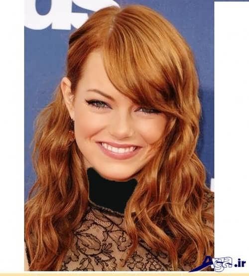 مدل رنگ مو بیسکویتی زیبا