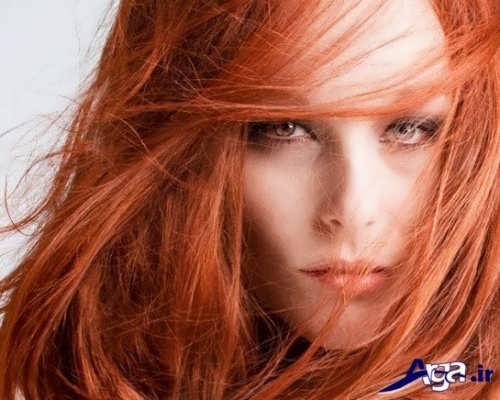 رنگ مو حنایی