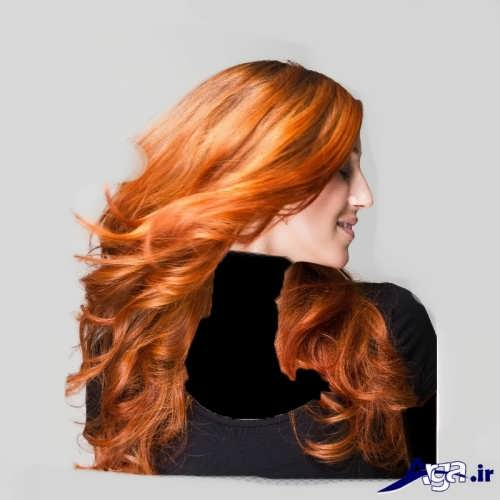 رنگ مو حنایی دخترانه