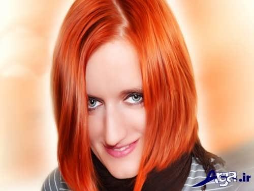 جدیدترین مدل های رنگ مو حنایی