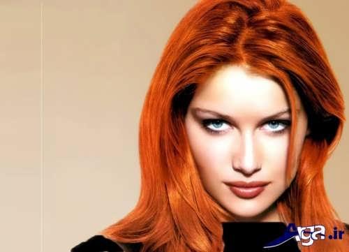 مدل های رنگ مو حنایی