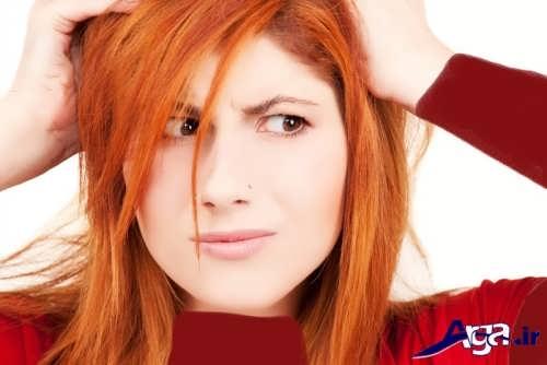 انواع مدل های شیک و زیبا رنگ مو حنایی