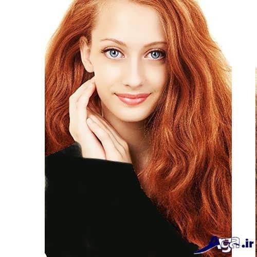 تصاویر انواع رنگ مو حنایی