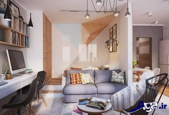 طراحی دکوراسیون داخلی خانه 50 متری