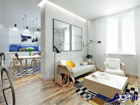 طراحی های مدرن برای دکوراسیون خانه های 50 متری