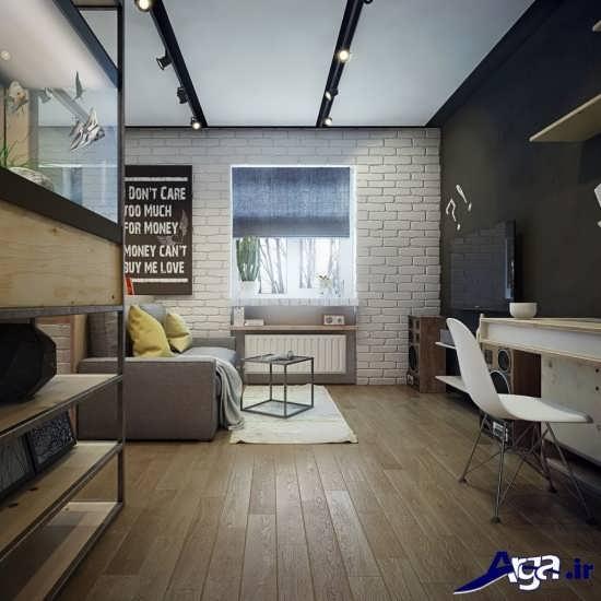 دیزاین دکوراسیون خانه های 50 متری شیک و زیبا