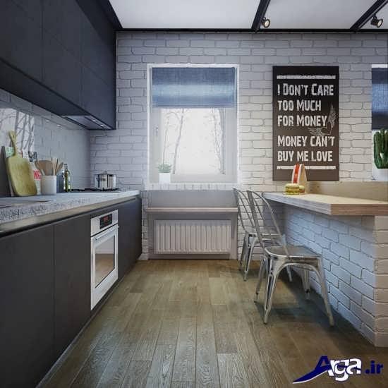 طراحی دکوراسیون برای آشپزخانه های کوچک
