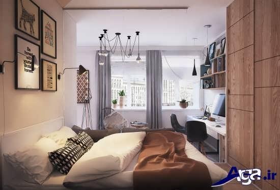طراحی اتاق خواب های کوچک