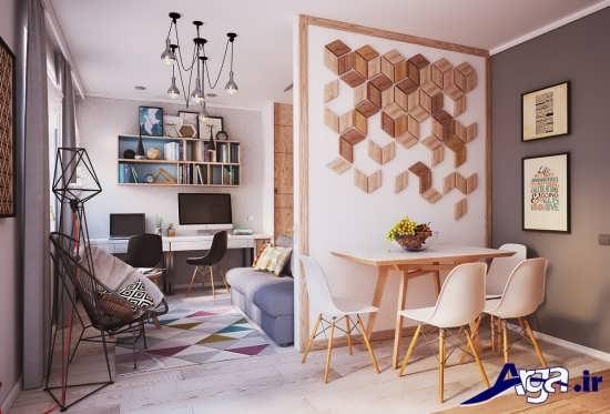 طراحی دکوراسیون های زیبا و بی نظیر برای خانه های 50 متری