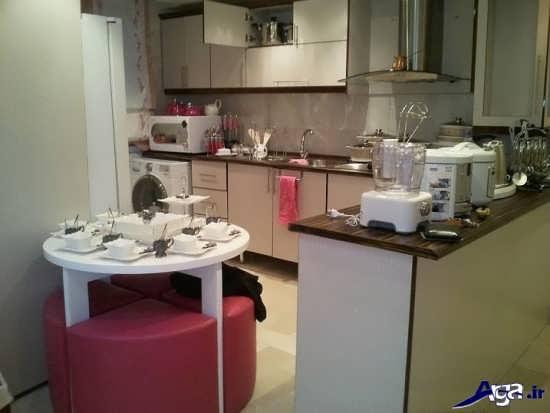 تزیین آشپزخانه عروس 95