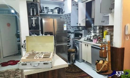 تزیین آشپزخانه عروس و داماد