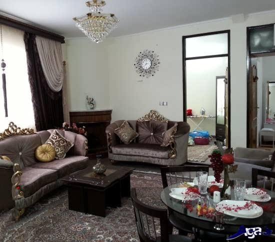 چیدمان منزل عروس ایرانی