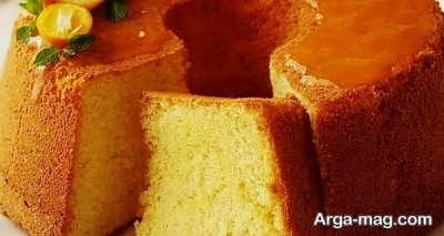 آموزش تهیه کیک پرتقالی بدون فر