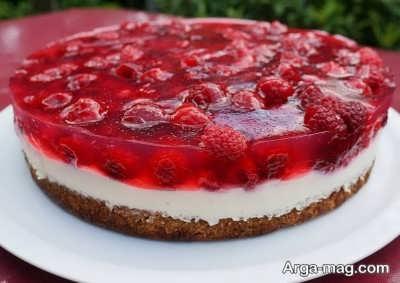 روش تهیه کیک توت فرنگی
