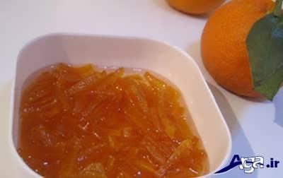مربای پوست پرتقال خوشمزه و خوش طعم