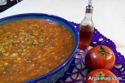 روش تهیه آش گوجه