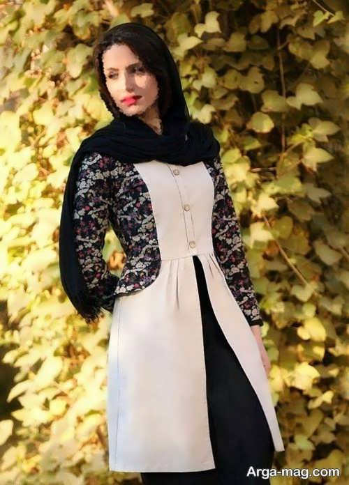 مدلهای متنوع مانتوی ایرانی
