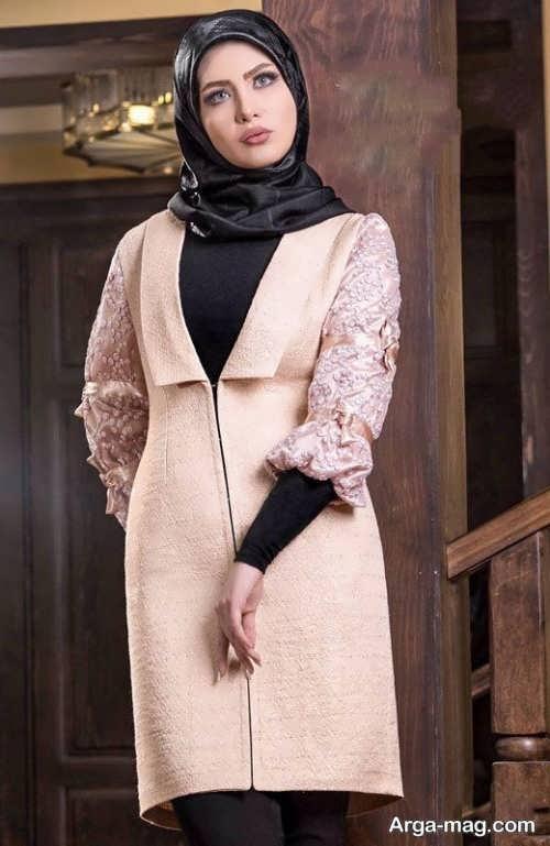 مدل زیبای مانتوی ایرانی