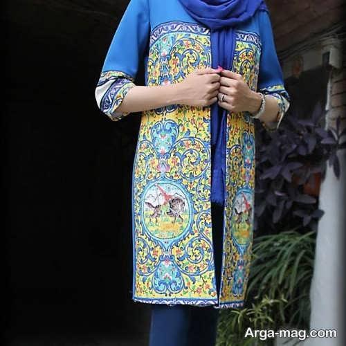 مدل مانتوی ایرانی جذاب