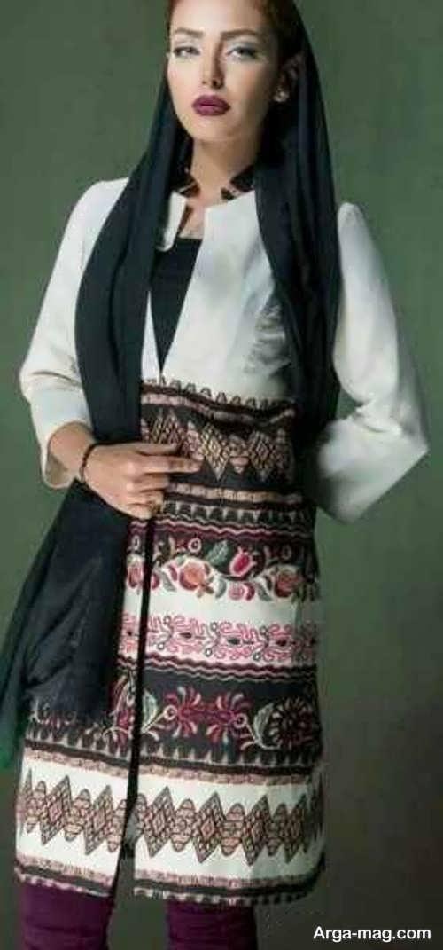 مدل مانتوی ایرانی زیبا