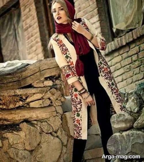 مدل مانتوی ایرانی
