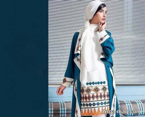 زیباترین مدل مانتوی ایرانی