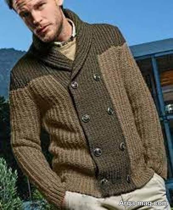 بلوز گرم مردانه دستباف
