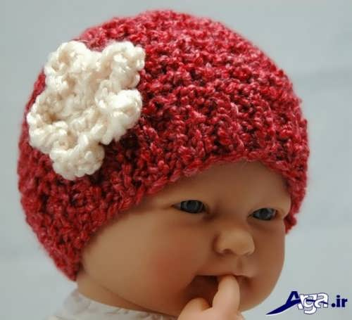مدل های انواع کلاه های بافتنی نوزادی