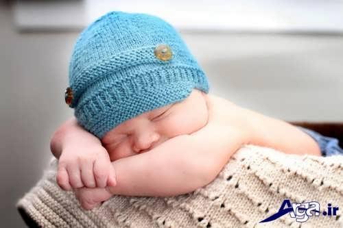 کلاه بافتنی نوزادی با طرح های شیک