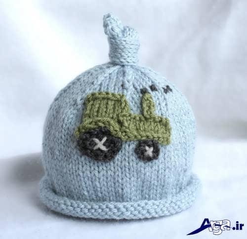زیباترین مدل های کلاه نوزاد با طرح های شیک و فانتزی