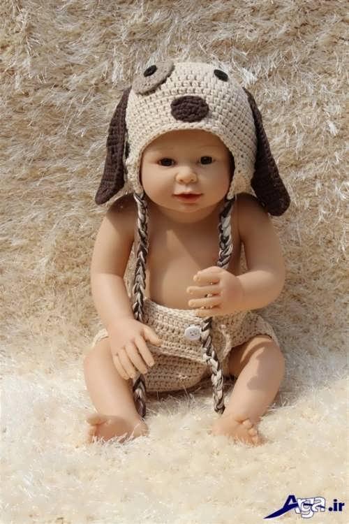مدل های شیک و متفاوت کلاه های نوزادی