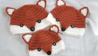 مدل های کلاه بافتنی نوزاد با طرح های زیبا و شیک