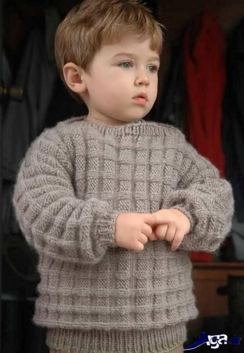 مدل بافتنی بچه گانه پسرانه