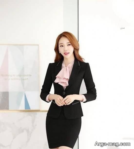 جدیدترین مدل کت دامن کره ای