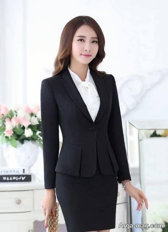 زیباترین مدل کت دامن کره ای