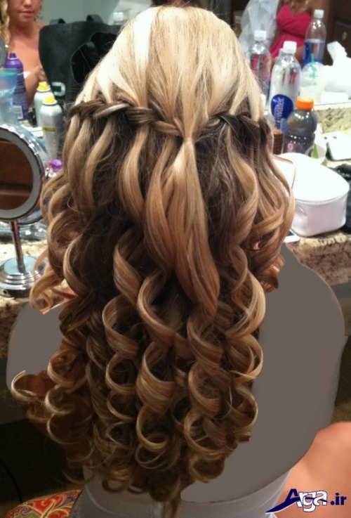 انواع مدل موهای فر زیبا و شیک