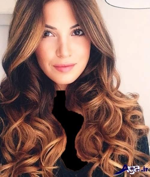 مدل موی فر باز و زیبا