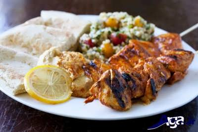 دستور پخت جوجه کباب لبنانی