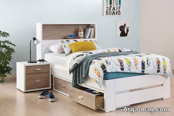 جدیدترین مدل تخت خواب mdf