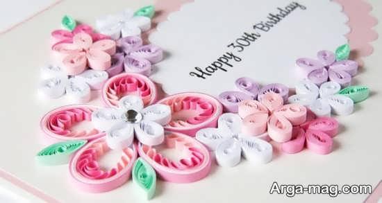 ایده ساخت کارت تبریک تولد