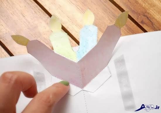 کارت تبریک تولد های دست ساز