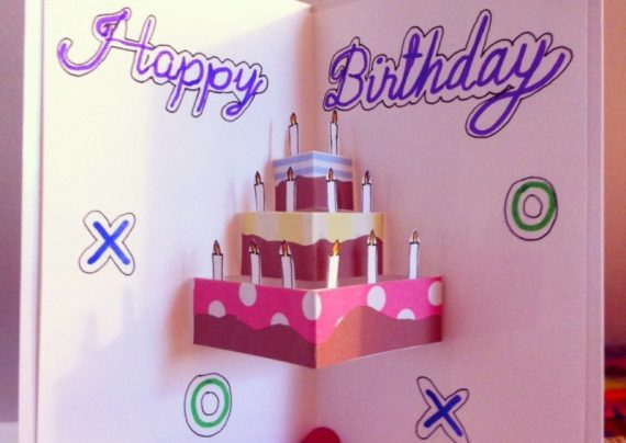 ساخت کارت تبریک تولد زیبا و جدید