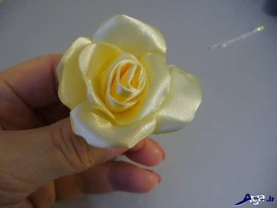 مراحل ساخت گل رز